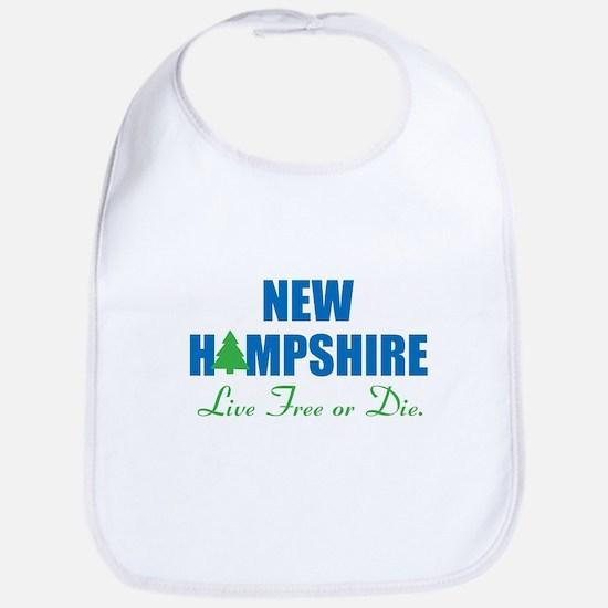 NEW HAMPSHIRE - LIVE FREE OR DIE Bib