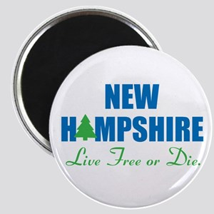 NEW HAMPSHIRE - LIVE FREE OR DIE Magnet
