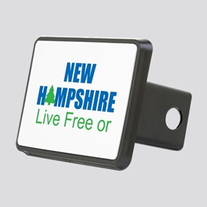 NEW HAMPSHIRE - LIVE FREE Rectangular Hitch Cover