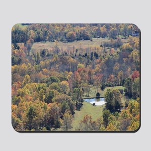 Shenandoah National Park during Fall. Mousepad