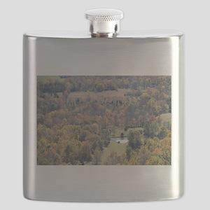 Shenandoah National Park during Fall. Flask