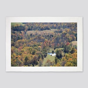 Shenandoah National Park during Fal 5'x7'Area Rug