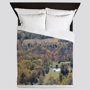 Shenandoah National Park during Fall. Queen Duvet