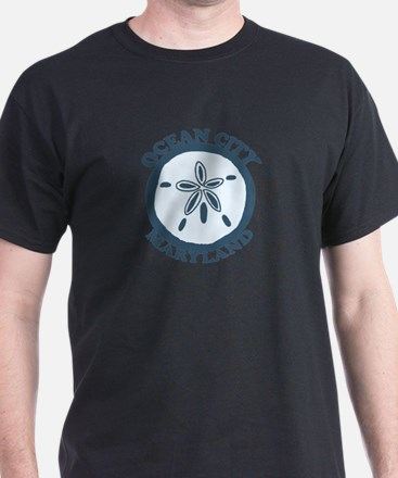 Ocean City MD - Sand Dollar Design. T-Shirt