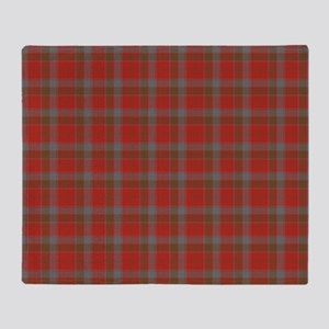 Robertson Weathered Tartan Throw Blanket