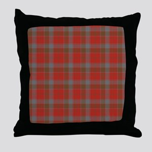 Robertson Weathered Tartan Throw Pillow