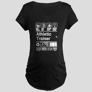 Athletic Trainer Shirt Maternity T-Shirt