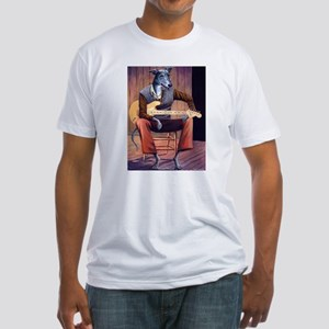 Blues Hound Fitted T-Shirt