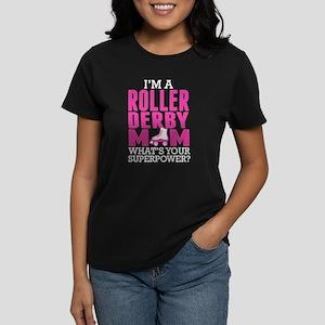 Roller Derby Mom Superpower T-Shirt