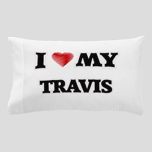 I love my Travis Pillow Case