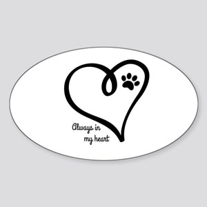 Always in my Heart Sticker