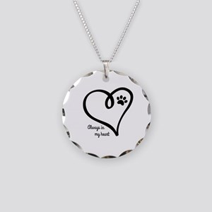 Always in my Heart Necklace Circle Charm