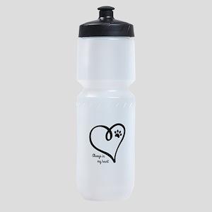 Always in my Heart Sports Bottle