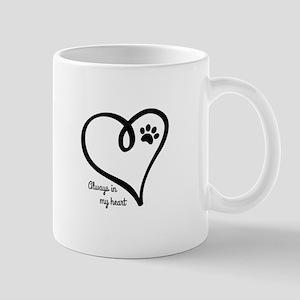 Always in my Heart Mugs