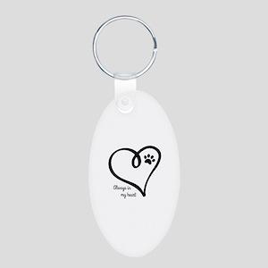 Always in my Heart Keychains