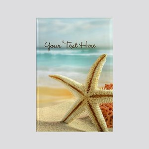 Personalized -Beach Starfish* Magnets