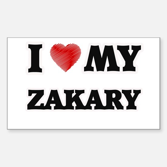 I love my Zakary Decal
