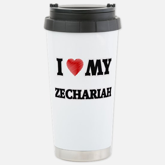 I love my Zechariah Stainless Steel Travel Mug
