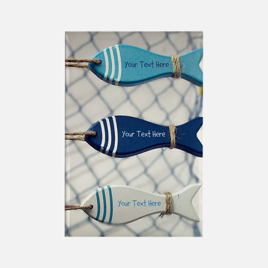 Personalized - Fish Net* Magnets