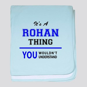It's ROHAN thing, you wouldn't unders baby blanket