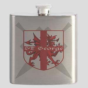 SAINT GEORGE FOR ENGLAND Flask