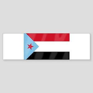 Yemen Flag Bumper Sticker