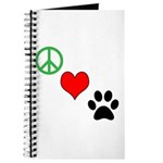 Peace, Love, Paws Journal