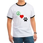 Peace, Love, Paws T-Shirt