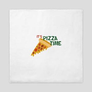 Pizza Time Queen Duvet
