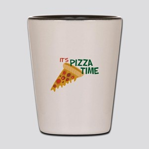 Pizza Time Shot Glass