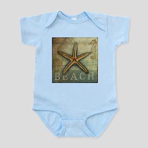 Starfish, Sand Dollar & Seahorse Body Suit