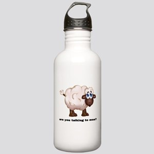 The Sheep -Talking to mea! Water Bottle