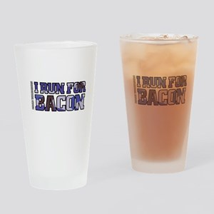 Run4Bacon Drinking Glass