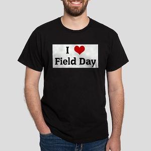 I Love Field Day Ash Grey T-Shirt