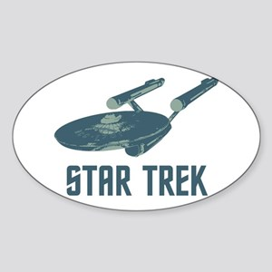 Retro Enterprise Sticker