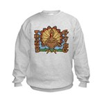 Thanksgiving Turkey Kids Sweatshirt