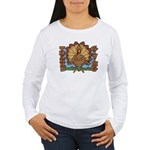 Thanksgiving Turkey Women's Long Sleeve T-Shirt