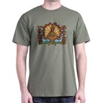 Thanksgiving Turkey Dark T-Shirt