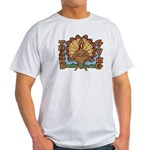 Thanksgiving Turkey Light T-Shirt