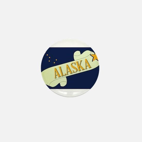 Alaska Scroll Mini Button