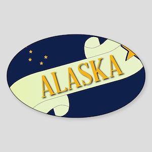 Alaska Scroll Sticker
