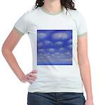 77.cloud study..? Jr. Ringer T-Shirt