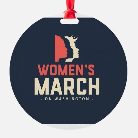 womens march on Washington Ornament