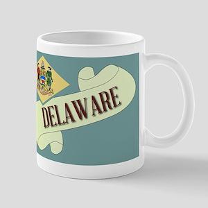 Delaware Scroll Mugs