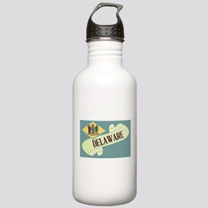 Delaware Scroll Stainless Water Bottle 1.0L