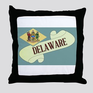 Delaware Scroll Throw Pillow