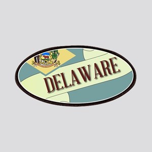 Delaware Scroll Patch
