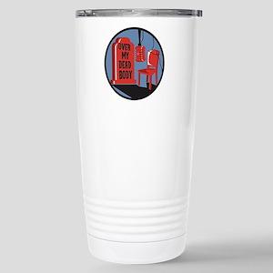 Over My Dead Body Orginal Logo Travel Mug