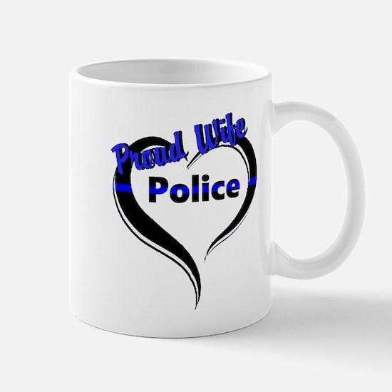 Proud Police Wife Mugs