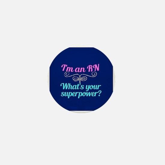 Super RN Cute Mini Button